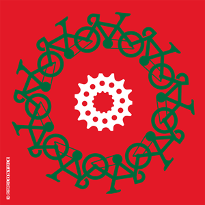 gezien christmas cyclecircle card