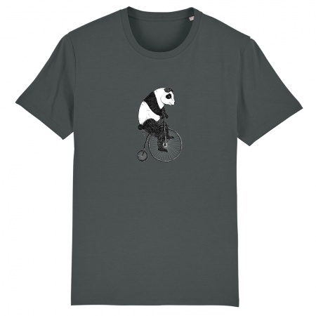 t-shirt_heren_panda_antraciet