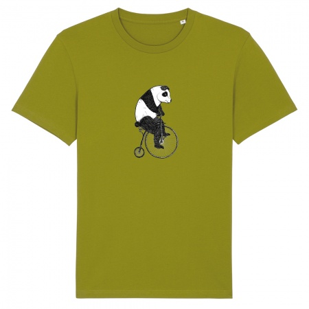 t-shirt_heren_panda_moss_green